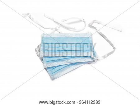 Personal Protective  Blue  Face Mask