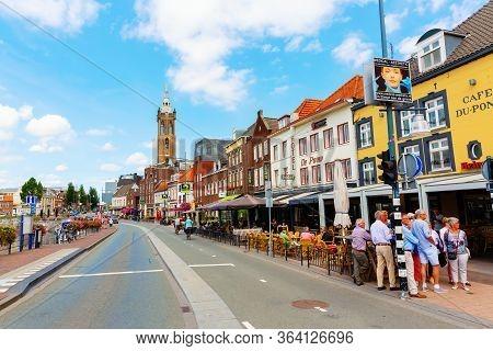Street Scene In Roermond, Netherlands