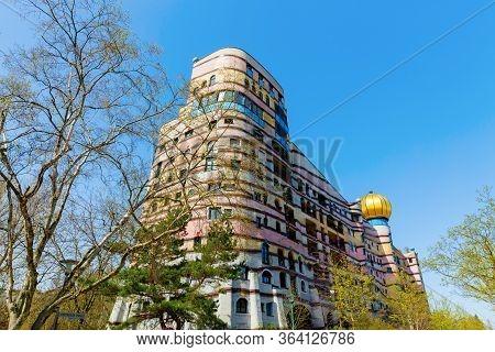 Waldspirale Building In Darmstadt, Germany