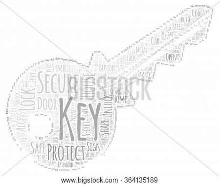 Key Word Cloud Art Poster Illustration