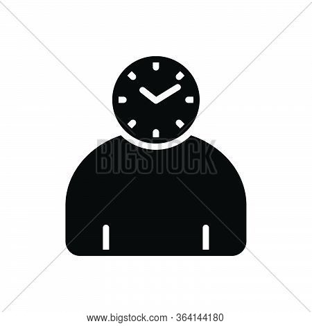 Black Solid Icon For Footage Video Film Strip