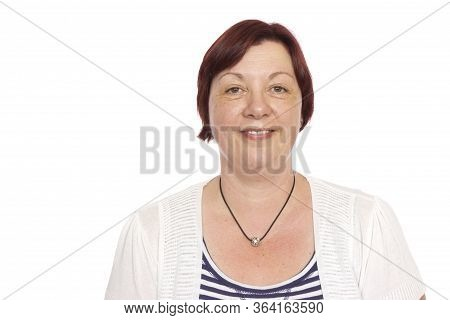 A Portrait Of A Real, And Average Middle Aged Woman.