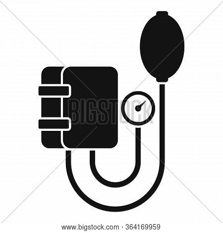 Arterial Pressure Mechanical Tool Icon. Simple Illustration Of Arterial Pressure Mechanical Tool Vec