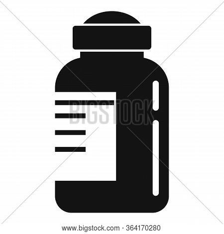Insulin Bottle Icon. Simple Illustration Of Insulin Bottle Vector Icon For Web Design Isolated On Wh