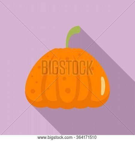 Jack Pumpkin Icon. Flat Illustration Of Jack Pumpkin Vector Icon For Web Design
