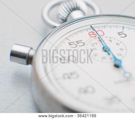 Sport Stopwatch On White Background