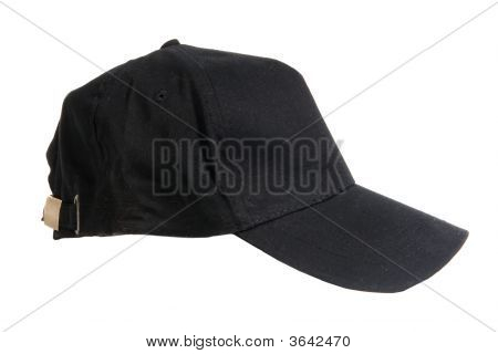 Blank Black Baseball Cap