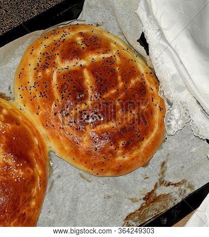 Making Pita-bread At Home Due To Coronavirus,