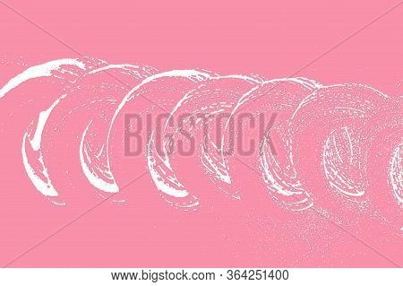 Natural Soap Texture. Actual Bright Pink Foam Trace Background. Artistic Eminent Soap Suds. Cleanlin