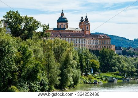 Castles Along The Danube River In The Wachau Valley