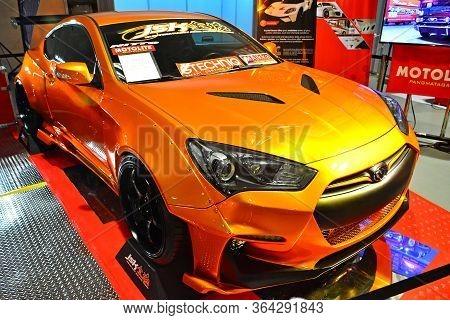 Pasay, Ph - May 19 - Hyundai Genesis Coupe At Trans Sport Show On May 19, 2018 In Pasay, Philippines