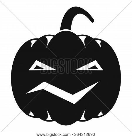 Carving Pumpkin Icon. Simple Illustration Of Carving Pumpkin Vector Icon For Web Design Isolated On