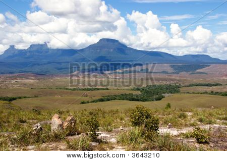 Tepui In Gran Sabana
