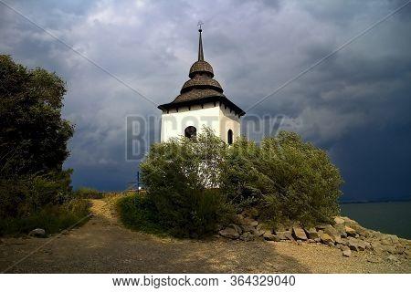 Tower Of The Church Of Our Lady - Liptovska Mara.