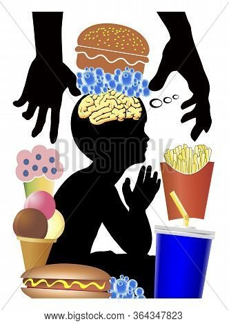 Food Industry Is Brainwashing Kids. Eating Habits Of Children Get Manipulated To Crave For Junk Food