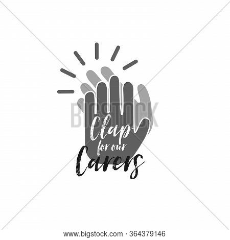Clap For Our Carers Clapping Hands Icon