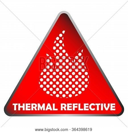 Thermal Reflective Icon - Thermal Insulation - Heat