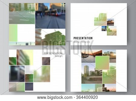 Vector Layout Of The Presentation Slides Design Business Templates, Multipurpose Template For Presen