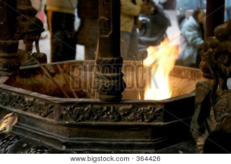 Altar For Buddhism