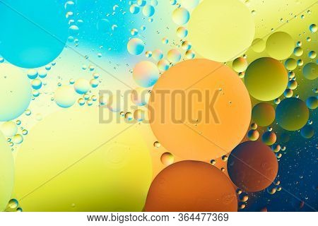 Trendy Multi-colored Colorful Bubbles Background, Texture, For Screensavers