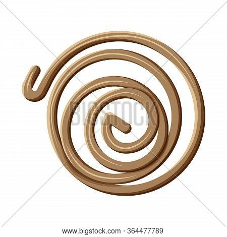 Vector Design Of Coil And Detail Icon. Web Element Of Coil And Metal Stock Symbol For Web.
