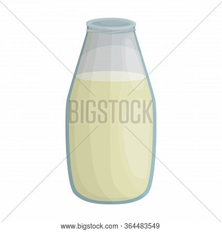 Soy Milk Vector Icon.cartoon Vector Icon Isolated On White Background Soy Milk.