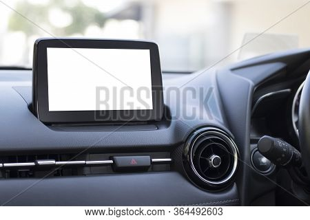 Touch Screen Monitor For Using Various Applications Such As Entertainment,communications,navigation.