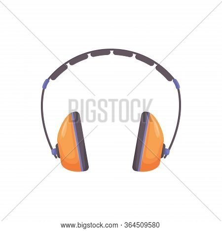 Ear Protectors Cartoon Vector Illustration