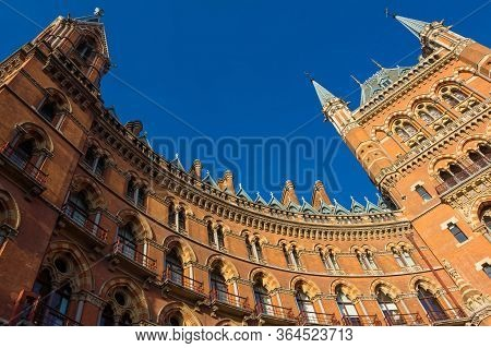The Saint Pancras Railway Station Was Opened In 1868 By The Midland Railway As The Southern Terminus