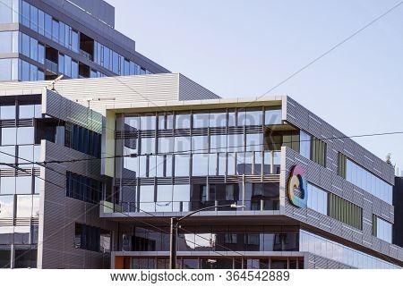 Seattle, Washington. Usa. August 2019. Google Cloud Headquarters.