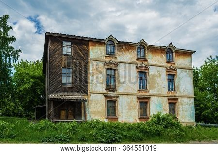 Unusual House In The City Of Alapaevsk