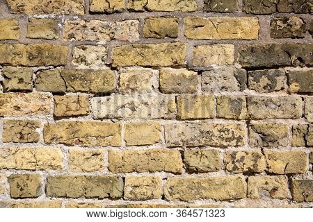 Brick wall of an historic building
