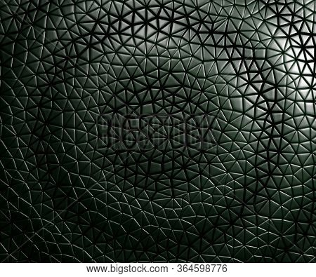 3d Seamless Pattern Asymmetric And Geometric Shaped Leather Background, Light And Dark Gradients Wav