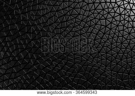 3d Seamless Pattern Asymmetric And Geometric Shaped Leather Background, Light And Dark Gradients Of