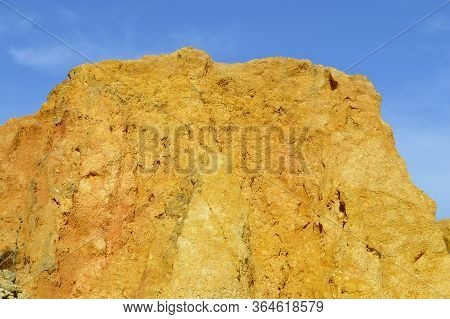 Ponta Da Piedade Spectacular Rock Formation In Portugal