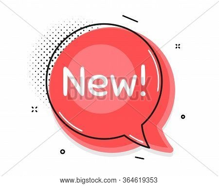 New Symbol. Thought Chat Bubble. Special Offer Sign. New Arrival. Speech Bubble With Lines. Arrivals