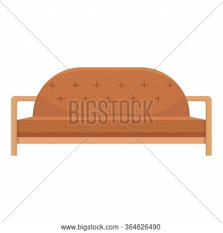 Camel Style Soft Sofa Icon. Cartoon Of Camel Style Soft Sofa Vector Icon For Web Design Isolated On