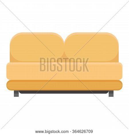 Soft Sponge Modern Sofa Icon. Cartoon Of Soft Sponge Modern Sofa Vector Icon For Web Design Isolated