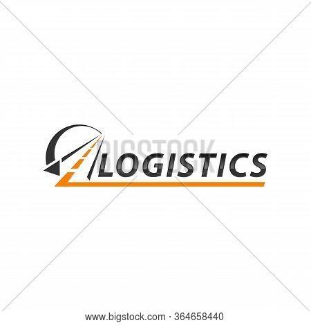 Road And Logistic Transportation Logo Vector Illustration.eps 10
