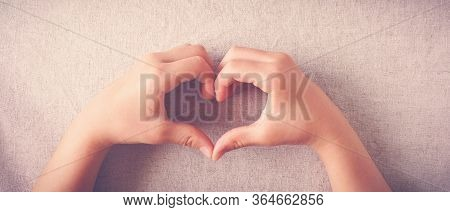 Child Making Heart Shape Hands, Heart Health, Generous, Love And Kindness, Sustainable Living, Donat