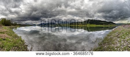 Dark Clouds Over Lake Liptovska Mara, Slovakia