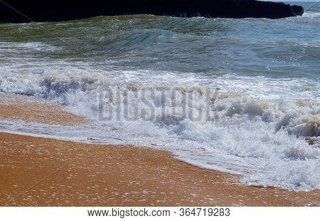 Senhora Da Rocha Beach On The Algarve Coast