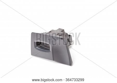 Spare Part Of Car For Replacing And Repairing On A White Isolated Background In Photo Studio Is An I