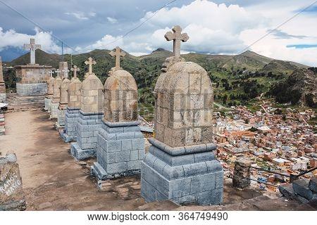 Cerro El Calvario, A Pilgrimage Site In Copacabana, Bolivia