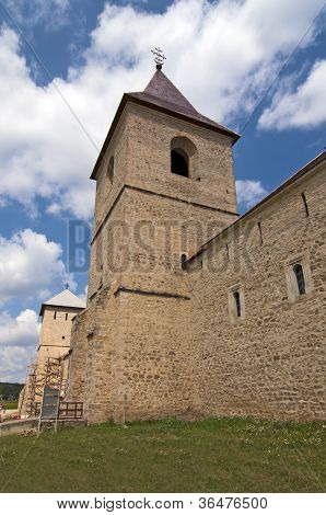 Wall And Tower Of Christian Monastery