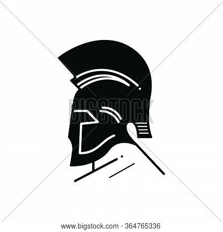Black Solid Icon For Greek God Egypt  Mythology  Greek Goddess