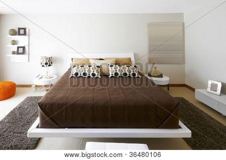 Innenarchitektur: moderne Schlafzimmer