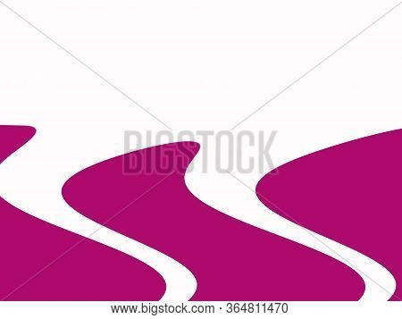 Two-tone White And Lilac Colors Background.  Wavy Abstract Background. The Best Design For Your Busi