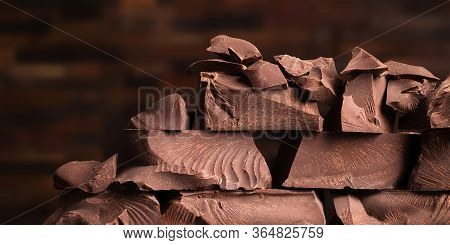 More Chocolate Chunks, Pile Of Sweet Candy
