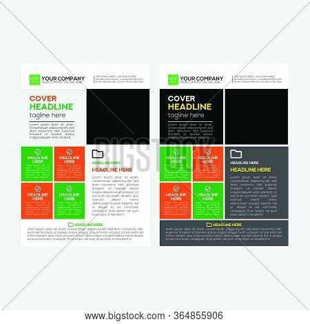 Corporate Business Flyer Simple Design